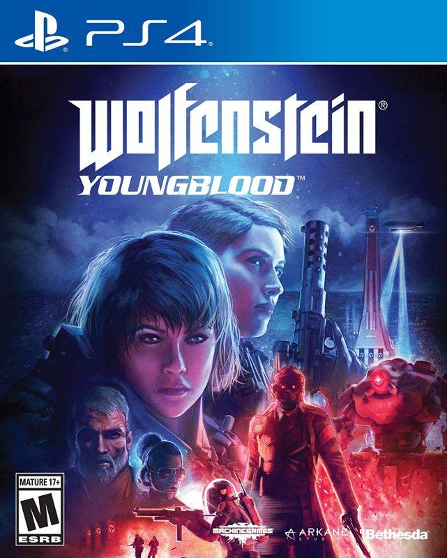 Wolfenstein Young Blood  PS4