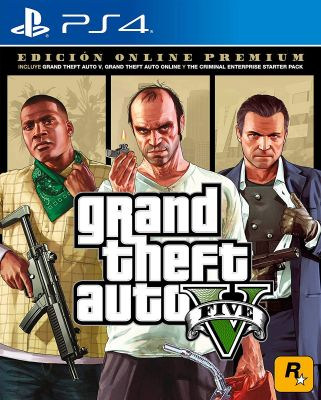 Игра GTA5 на PS4 | Grand Theft Auto V Premium для PlayStation 4