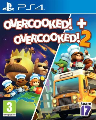 Игра Overcooked для ps4 + Overcooked 2 Playstation 4