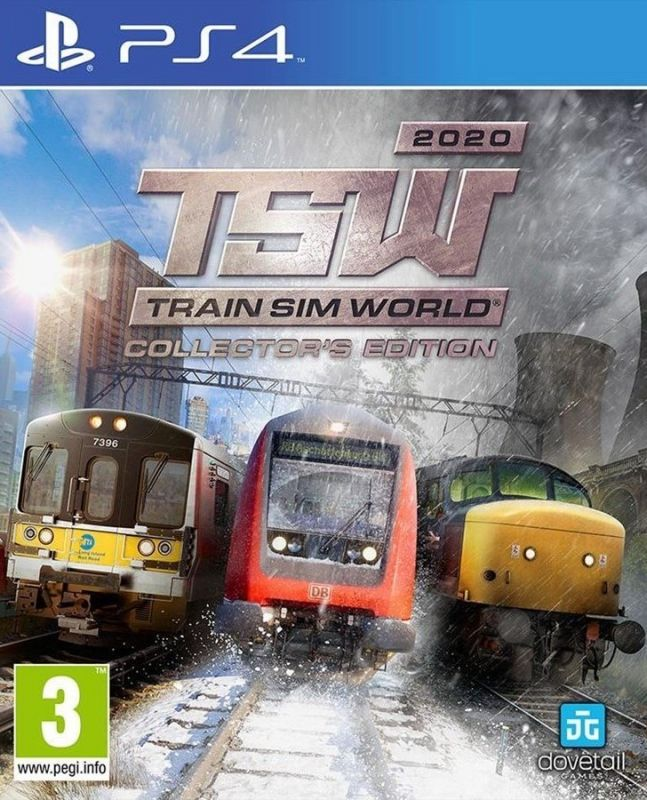 Поезда на PS4 | Train Sim World Рlaystation 4