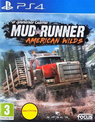 Игра Spintires MudRunner American Wilds для PlayStation 4