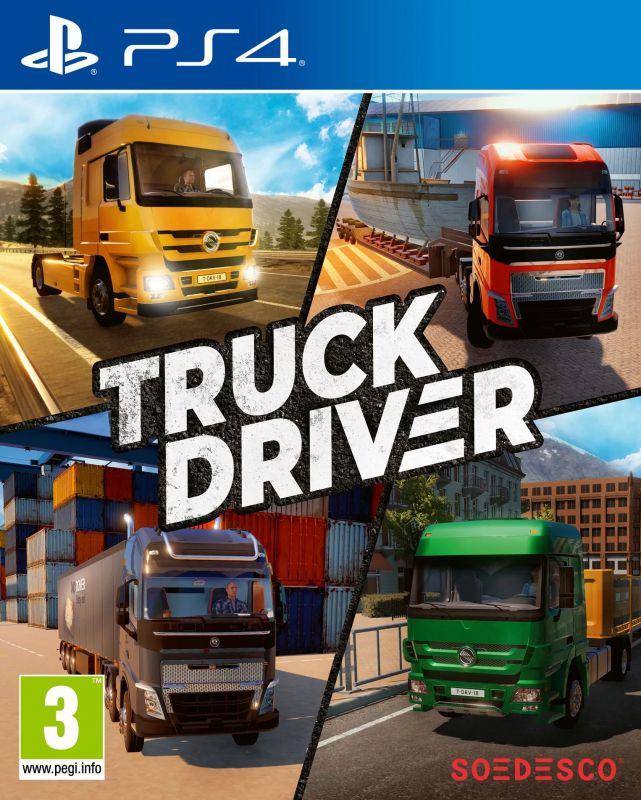 Truck Driver для PS4 | Cимулятора дальнобойщика для ПС4