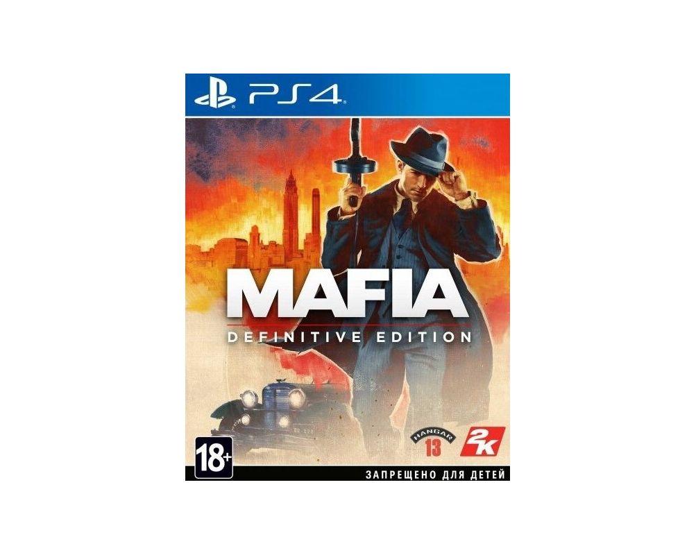 Игра Mafia для PS4 | Mafia Definitive Edition PlayStation 4