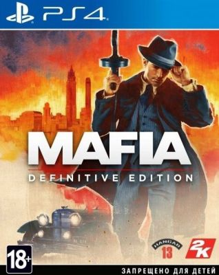 Игра Mafia для PS4 | Mafia Definitive Edition PlayStation 4