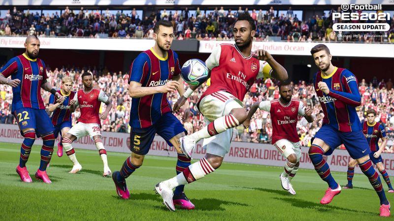 Игра PES 2021 для Playstation 4