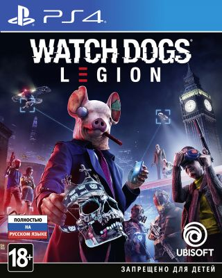 Игра Watch Dogs Legion для PlayStation 4|  Watch Dogs 3 PS4