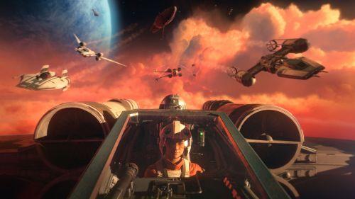 Игра Star Wars Squadrons для PlayStation 4