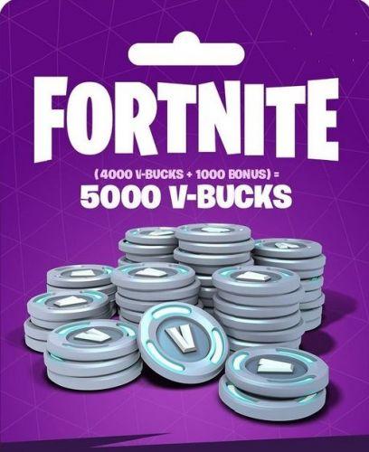 Fortnite: 5 000 В-баксов