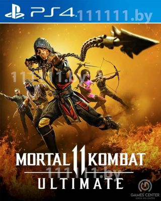 Mortal Kombat 11 Ultimate PS4