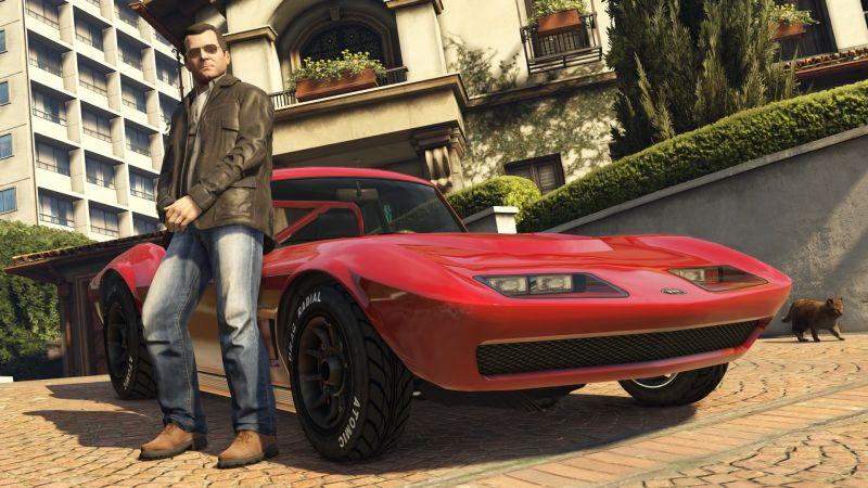 Grand Theft Auto 5 playstation 4 (GTA 5 для PS4)
