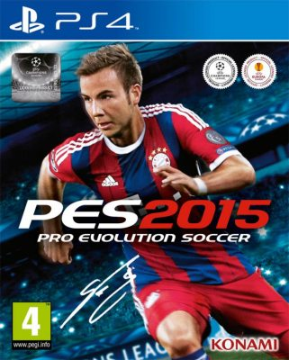 Pro Evolution Soccer 2015 (Русская версия) PS4