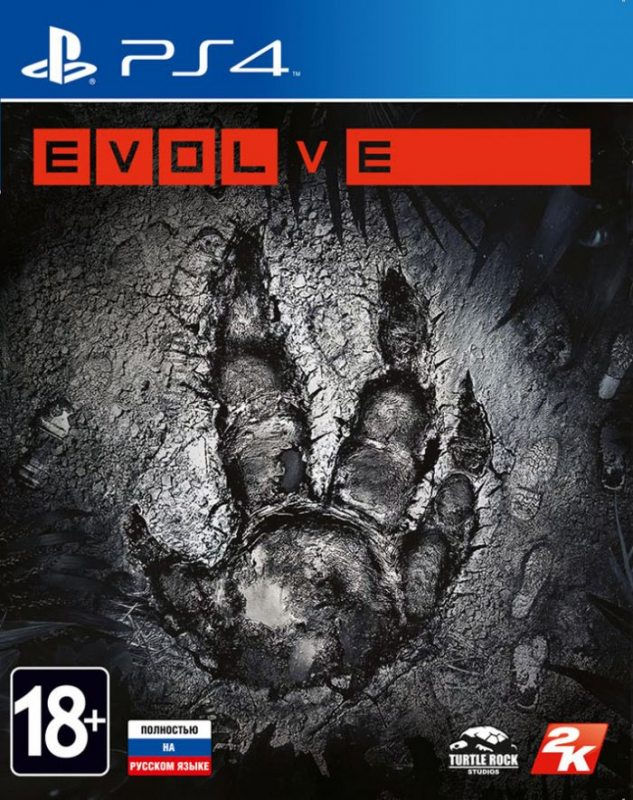 EVOLVE (Полностью на русском языке!) PS4
