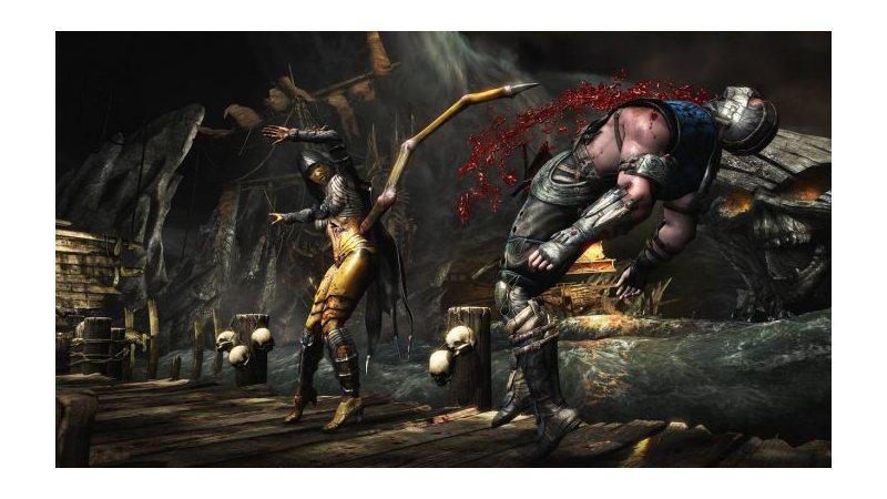 Mortal Kombat X (PS4) Русская версия
