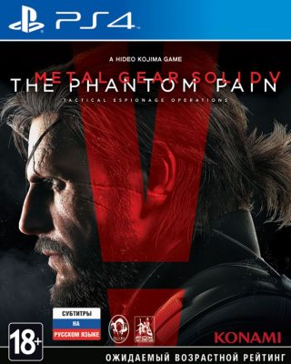 METAL GEAR SOLID V: The Phantom Pain (PS4) Русская версия