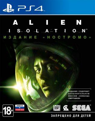 Alien: Isolation. Издание «Ностромо» (Полностью на русском языке!) PS4