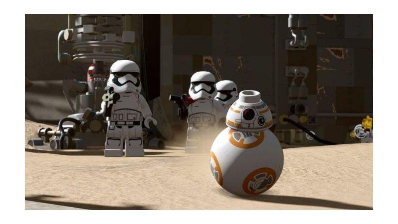LEGO Звездные войны: Пробуждение Силы PS4