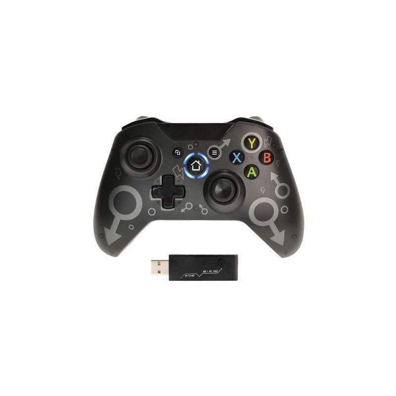 БЕСПРОВОДНОЙ ГЕЙМПАД N-1 ДЛЯ XBOX ONE/PC/PLAYSTATION 3 «ЧЕРНЫЙ»