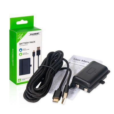 Аккумулятор для Xbox Series S/X DOBE Battery Pack + кабель USB Type-C