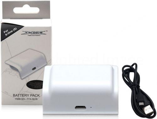 Аккумулятор Dobe TYX-561 Battery Pack 400mAh White - Белый для Xbox One