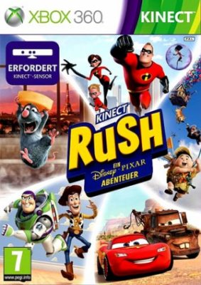 Kinect Rush: A Disney/Pixar Adventure [Xbox 360] 2 dvd