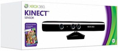 Microsoft Kinect Sensor + 2 игры для Xbox 360