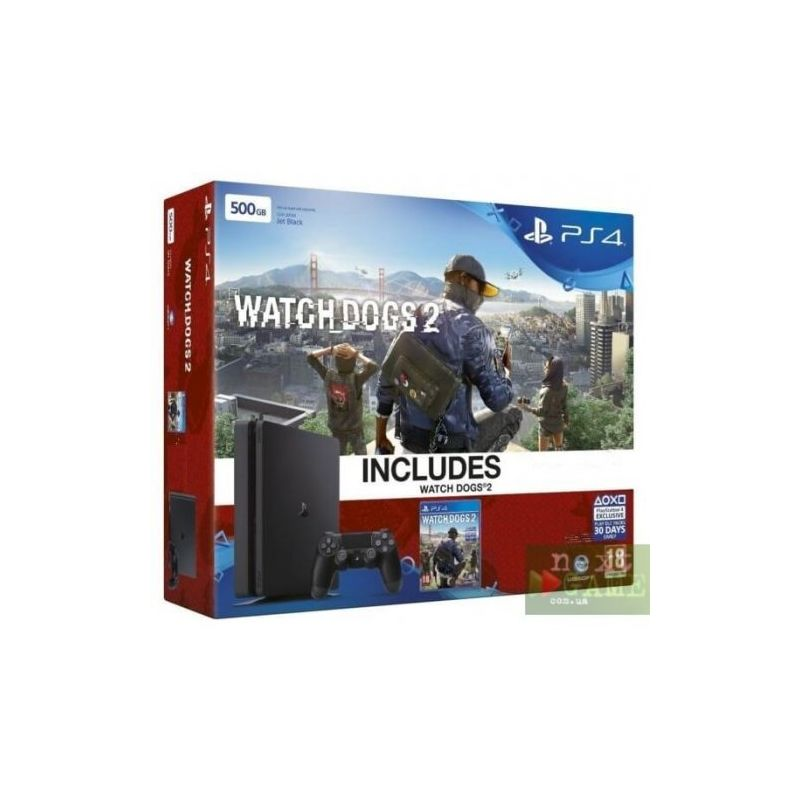 PlayStation 4 + Watch Dogs 2