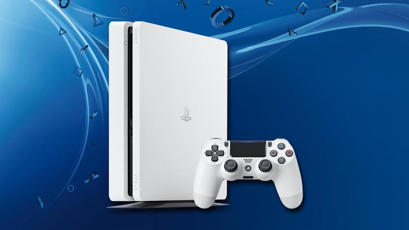 Playstation 4 slim белая