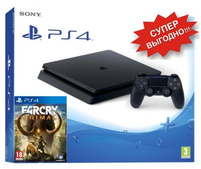 PlayStation 4 slim + Far Cry Primal PS 4