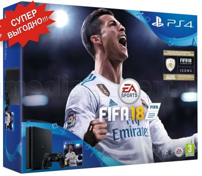 PlayStation 4 Slim 1TB + FIFA 18