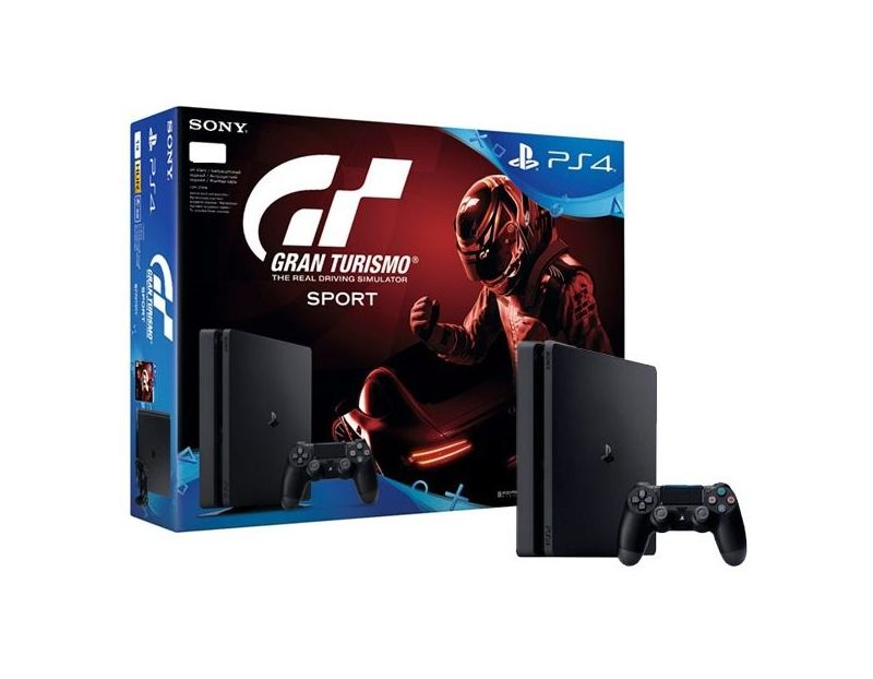 Sony PlayStation 4 Slim + GRAN TURISMO SPORT (PS4)