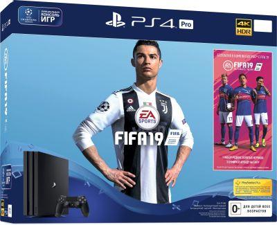 PlayStation 4 PRO + FIFA 19