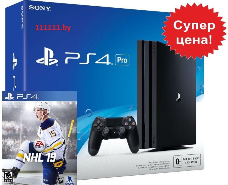 PlayStation 4 PRO + NHL 19