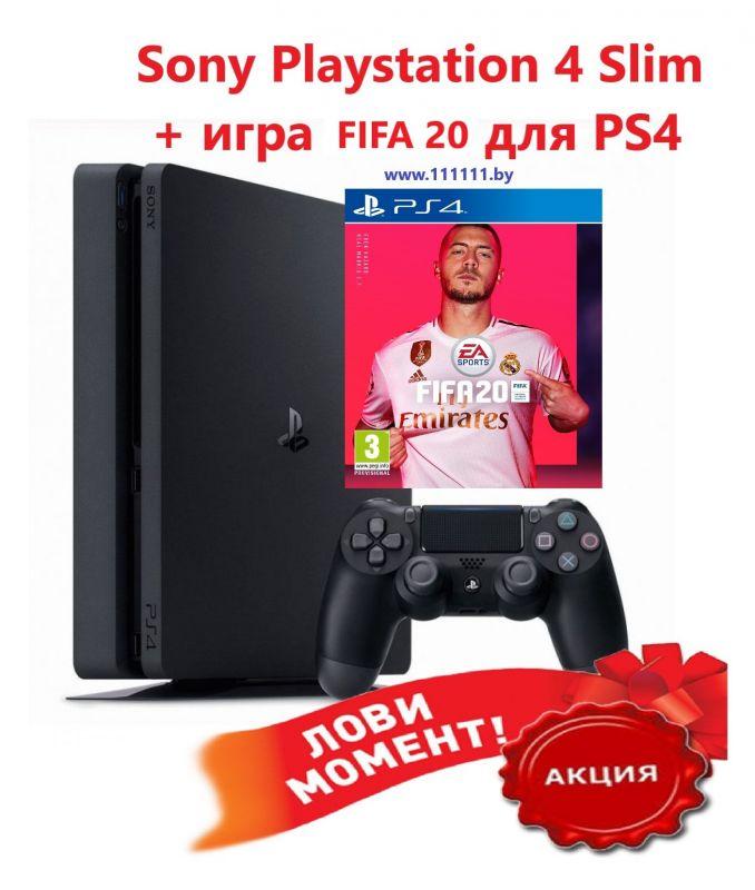 Sony PlayStation 4 + FIFA 20