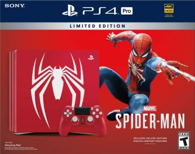 PlayStation 4 Pro Marvel Spider-Man