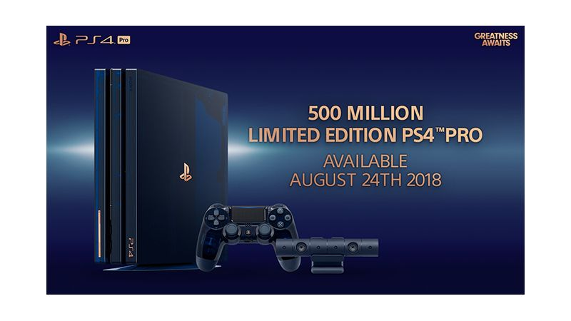 PlayStation 4 (PS4 Pro) 500 Million Limited Edition