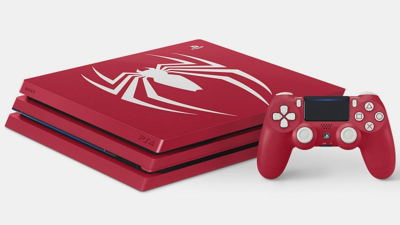 PlayStation 4 Pro Красная