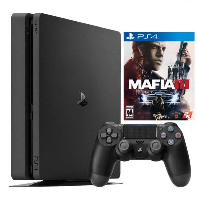 Sony Playstation 4 Slim + Mafia 3 | Купить PS4 Slim