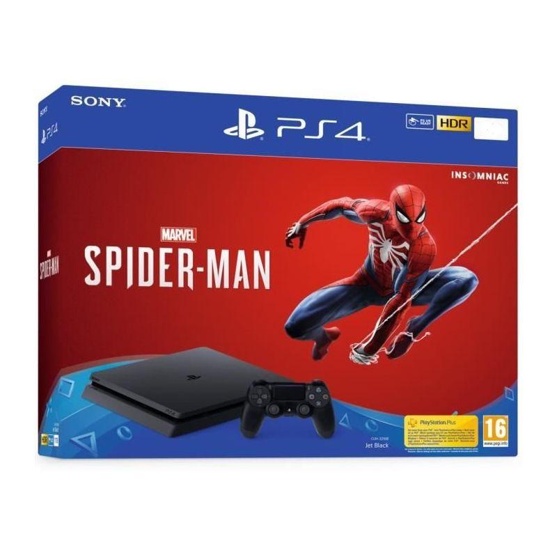Sony Playstation 4 Slim + Spider Man PS4