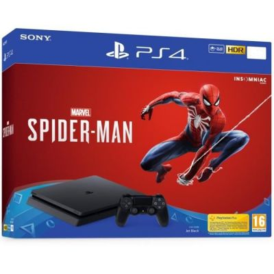 Sony Playstation 4 Slim + Spider Man PS4