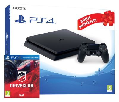 Sony Playstation 4 Slim 500 GB + Drive Club (PS4)