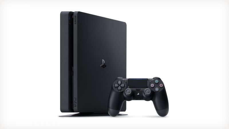 Sony Playstation 4 Slim 1Tb Black Игровая консоль + The Last Of Us (PS4)