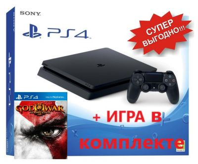 Sony Playstation 4 500 GB + God of War