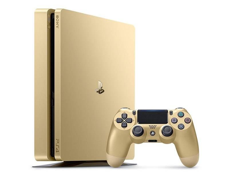 PlayStation 4 Slim Gold