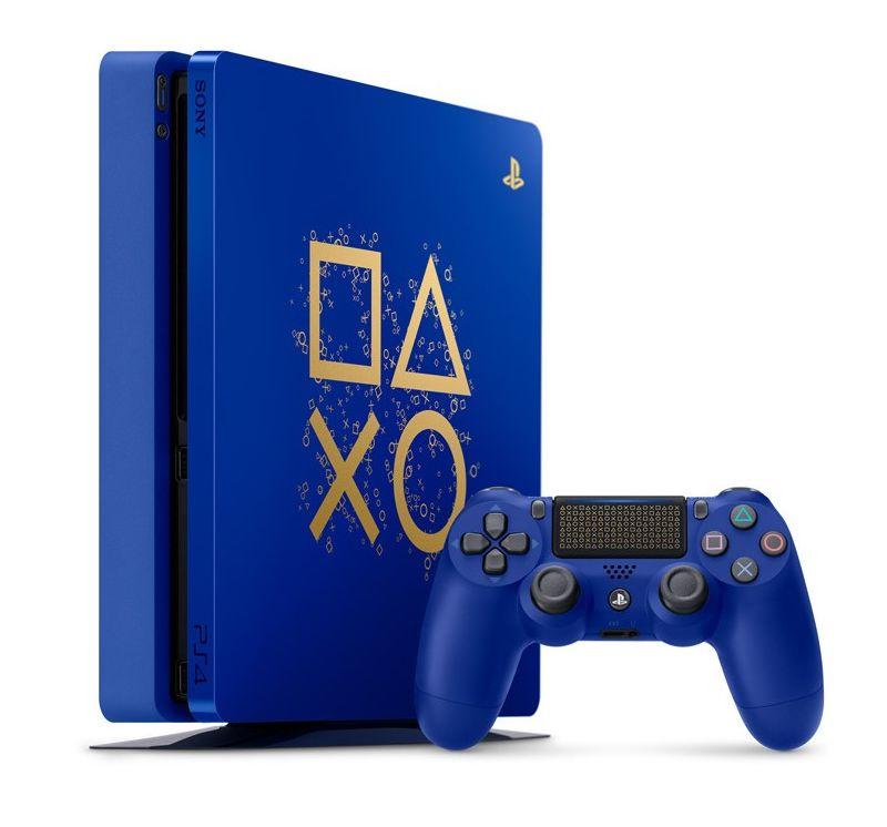 Sony PlayStation 4 (PS4) Days of Play. Новое ограниченное издание PS4.