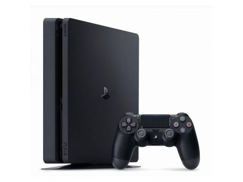 Игровая приставка Sony PlayStation 4 Slim + 4 игры