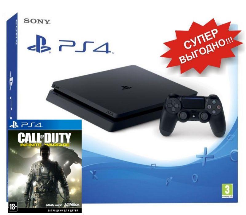PlayStation 4 Slim + Call of Duty: Infinite Warfare PS4