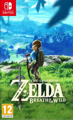 Nintendo Switch The Legend of Zelda.