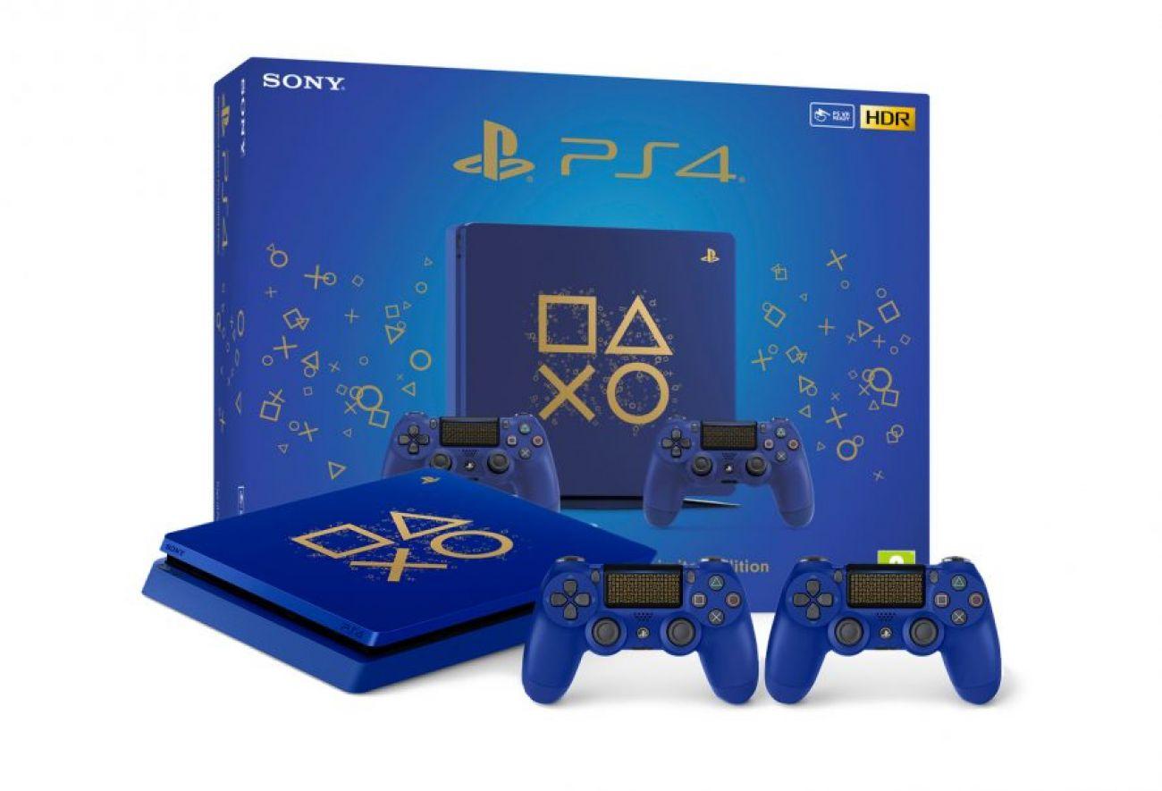 PlayStation 4 (PS4) Цвет настроения СИНИЙ... Лимитированная серия PlayStation 4 Slim в самом модном цвете этого лета - ультрамарин!