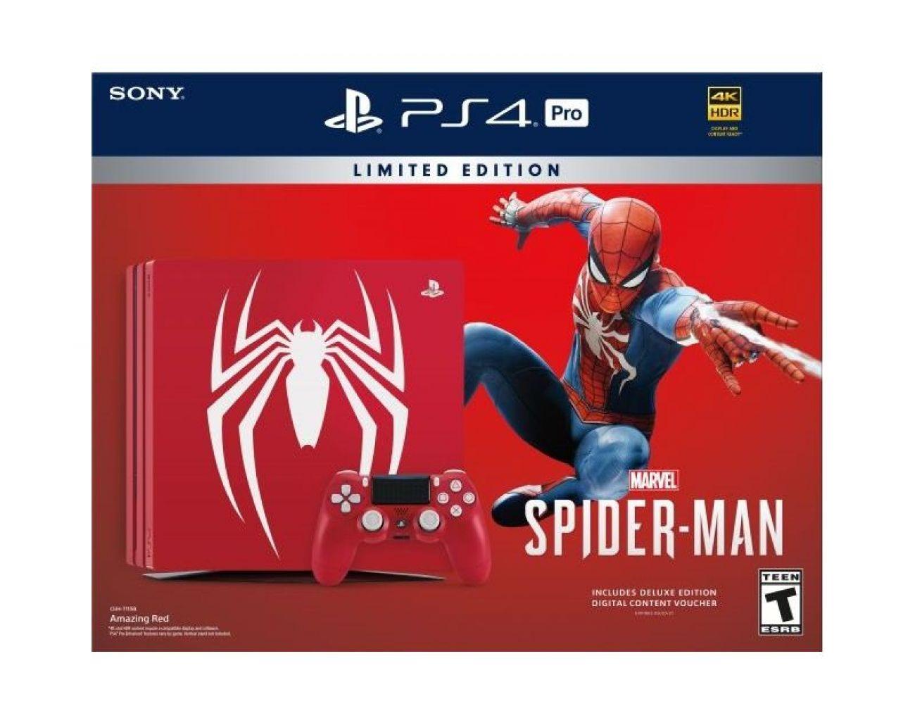 Купить Ограниченное Издание PlayStation 4 Pro Marvel Spider Man - Человек Паук