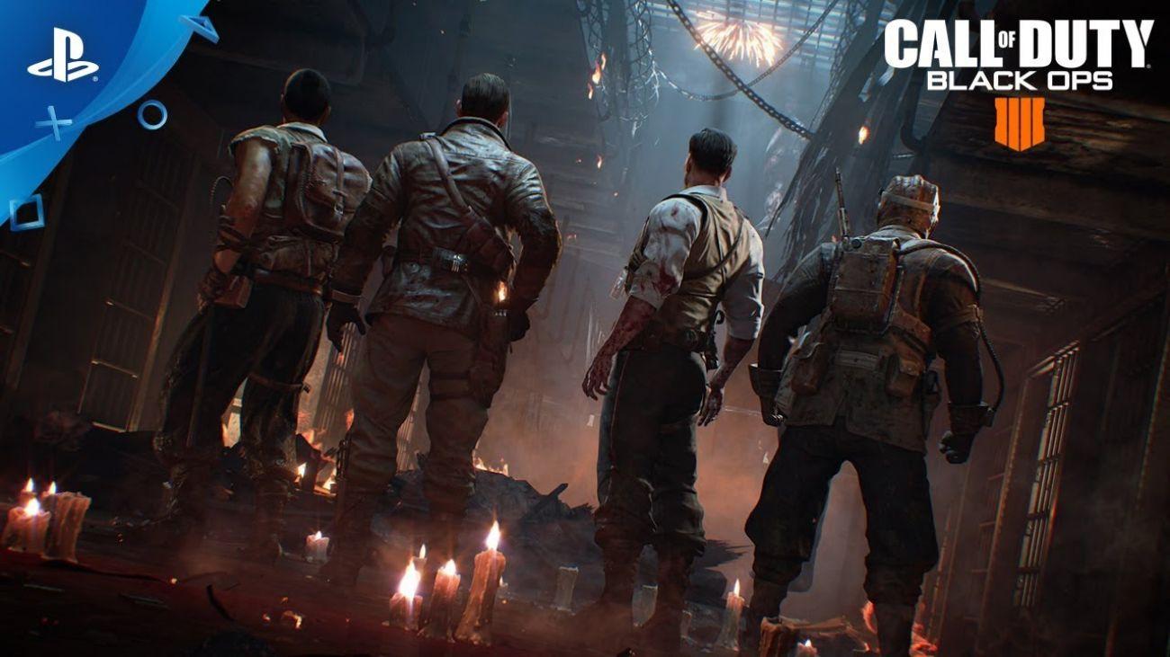 Call of Duty Black Ops 4 для PS4 первые отзывы.